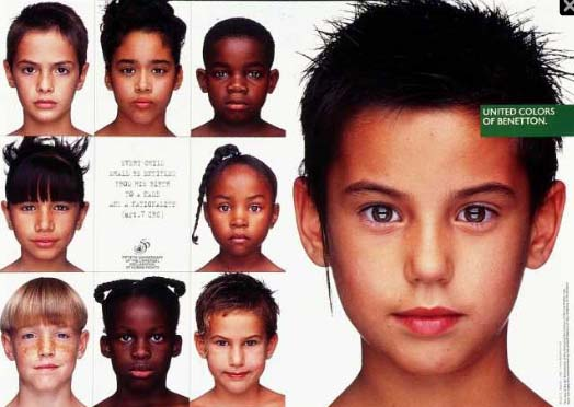an analysis of united colors of controversy shock value in banetton advertising Colors ceased to be a feature distinguishing the manufacturer, expressing the brand's innermost value: the idealistic vision of a united world in which all colors live together in harmony over the years benetton provocative campaigns received criticism from stakeholders and public opinion because of the exploitation of hot topics for profit.